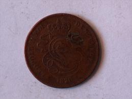 Belgique 2 Cents 1870 Centimes - 02. 2 Centimes