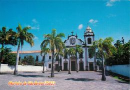 Mosteiro De Sao Bento 1582, Olinda, Pernambuco, Brasil Brazil Postcard Used Posted To UK 1997 Stamp - Other