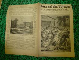 1887 JdV :Birmanie; Le Pirate Henry-John-Morgan ; Les Iles MALDIVES ;Le Dompteur FAIMALI; Château De LACAZE; Les MAORIS - Journaux - Quotidiens