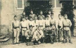 Groupe De Soldats Français Non Voyagée - War 1914-18