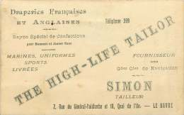 SIMON Tailleur Le Havre  «The High Life Tailor» - Advertising