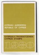 TIMBRES  NEUFS  DE  CHYPRE  /  CYPRUS  STAMPS  1980  ( Mint ) /  16  Timbres + Bloc-feuillet Spécial  ( état Luxe )