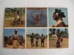 Postcard/Postal - Guine Bissau - Motivos Da Guiné - Guinea-Bissau