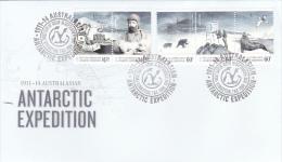 Australian Antarctic Territory 2014 Antarctic Expedition FDC - Unclassified