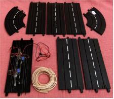 Carrera 160 Set -  4 X 63510 Standardgerade , 1 Standardgerade Mit Impulsgeber ,  2 X 63501 Kurve 0/45 Grad - Andere Sammlungen