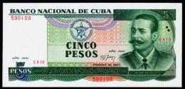 C / SET 5 10 20 AND 50 PESOS 1990-91  PICK 108 109 110 111 UNC