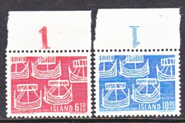 ICELAND  404-5   **  ANCIENT  SHIPS   NORDIC CO-OP - 1944-... Republic