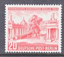 GERMANY  BERLIN   9 N 103   * - Unused Stamps