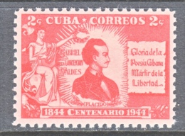CUBA  402  * - Unused Stamps