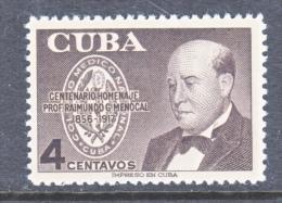 CUBA  MEDICINE  561  ** - Cuba