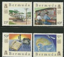 Bermuda      Telephone Company      Set      SC# 528-31  Mint - Bermuda