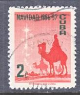 CUBA    562   (o)  CHRISTMAS STAR - Cuba
