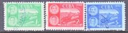 CUBA    452-4     (o)   TRAIN WRECK - Cuba