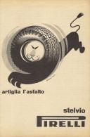 # PIRELLI Tyres 1950s Car Tires Italy Advert Pub Pubblicità Reklame Pneumatici Pneus Reifen Neumaticos F.1 - Altri