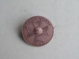 STOCKHOLM 1930 ( 10 GT ) Speld / Badge ( Sporrong & C° ) Details See Photo ! - Tokens & Medals