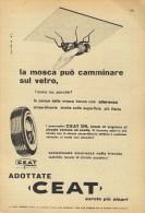 # CEAT Tyres 1950s Car Tires Italy Advert Pub Pubblicità Reklame Pneumatici Pneus Reifen Neumaticos India Mumbai - Transporto