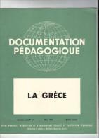 Documentation Pédagogique ,LA GRECE , N° 38 , 1954 , 4 Fiches/8 , Frais Fr : 3.00€ - Histoire