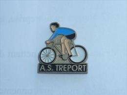 Pin's CLUB CYCLISME, A.S. LE TREPORT - Cyclisme