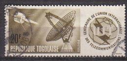 D0299 - TOGO Yv N°445 ESPACE SPACE - Togo (1960-...)