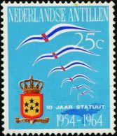 AS2199 Netherlands Antilles 1964 Flag Emblem 1v MLH - Briefmarken