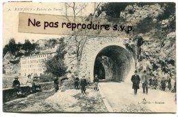 -  1 - BARJOLS - Var - Entrée  Du Tunnel, écrite En 1911, Super Animation, Enfants, TBE, Scans. - Barjols