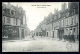 Cpa Du 18  Saint Amand Montrond Rue Lafayette    AVR5 - Saint-Amand-Montrond