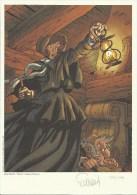 """FOURQUEMIN  -  Ex-libris """"Miss Endicott, Tome 1"""" - Illustratoren D - F"""