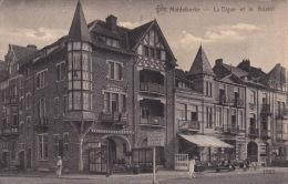 Middelkerke 199: La Digue Et Le Bristol 1923 - Middelkerke