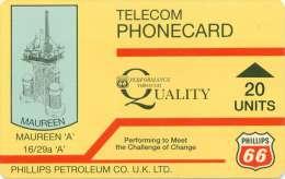 TELECARTE MAGNETIQUE PHILLIPS PETROLEUM  PETROLE IPL SCOTLAND - Petrole