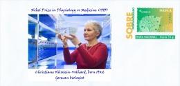 SPAIN, 2014 Nobel Prize In Physiology Or Medicine (1995), Christiane Nüsslein-Volhard, Born 1942 German Biologist - Nobelpreisträger