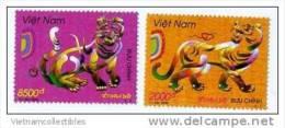 Vietnam Viet Nam MNH Perf Stamps 2010 : Year Of Tiger (Ms987) - Vietnam