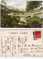 SHEFFIELD - Rivelin Near   - Cachet Perlé De TOULON SUR ALLIER (Ind. 4) (66438) - Royaume-Uni