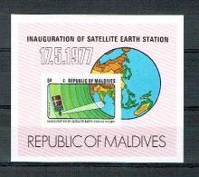 Malediven - Erdfunkstelle 1977 (**/mnh) - Maldive (1965-...)