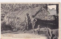 Nouvelles Hebrides - Veroomdoom Et Chef De Famille De La Tribu Beldrahaf Cana De Segoir - Vanuatu