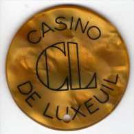 Casino De Luxeuil : 50 Anciens Francs - Casino