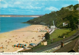 Porthminster Beach, St Ives, Cornwall, England Postcard Valentine's - St.Ives