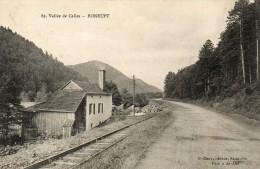 BONRUPT  Vallée De Celles Voie Ferrée - France