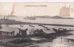 Nouvelle Caledonie - La Flotille Du Penitencier De Noumea - Nouvelle-Calédonie
