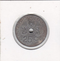 25 Centimes Zinc 1946 FR-FL - 1934-1945: Leopold III