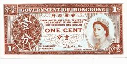 Billets - B1106 -  Hong-Kong   -  One Cent  ( Type, Nature, Valeur, état... Voir  Double Scan) - Hong Kong