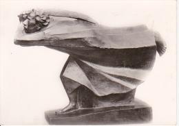 AK Ernst Barlach - Der Rächer, Bronze, 1923 (3258) - Skulpturen