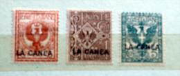 ITALIA REGNO - 1905 UFFICI POSTALI ALL'ESTERO LA CANEA MNH/MH - La Canea