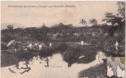 Nouvelles-Hebrides - Délimitation Des Terrains Francais - Vanuatu