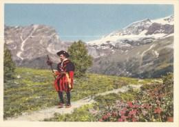 Postvervoer Zwitserland - 400 Jaar Zwitsers Vervoer - 17. Jahrhundert Berner Postläufer - R2 - Ongebruikt - Post