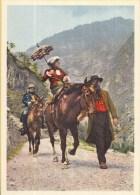Postvervoer Zwitserland - 400 Jaar Zwitsers Vervoer - 1820 Touristengruppe - R5 - Ongebruikt - Post