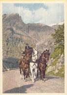 Postvervoer Zwitserland - 400 Jaar Zwitsers Vervoer - 1860 Achtplätzer-Kupee-Landau Er Mit Bankette - R6 - Ongebruikt - Post