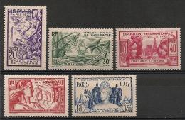 Océanie. 1937. Entre N° 121 Et 126.  Neuf * - Oceania (1892-1958)