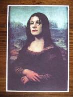 Lisa Mona Movie Film Carte Postale - Publicidad