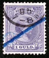 NETHERLAND / PAYS BAS 1891-97 NVPH 44 -YT N° 45 - 1891-1948 (Wilhelmine)