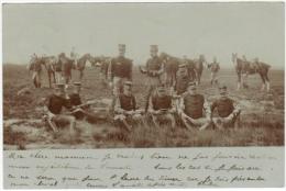 02289p TP 56 S/CP Militaires En Manoeuvre C.dépôt Relais Hechtel 19.8.1904 V.Hasselt - Hechtel-Eksel
